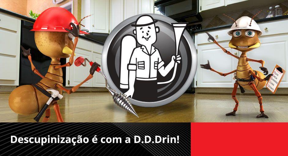 foto DDDrin Tecnologia em Controle de Pragas