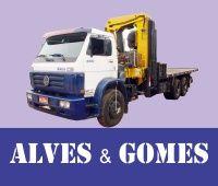 Alves e Gomes - Caminhão Munck em Bertioga