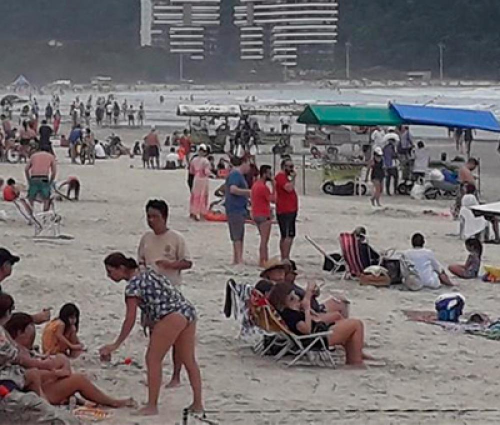 Pandemia em Bertioga: o que pode e o que não pode nas praias