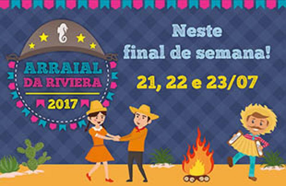 Festa Julina na Riviera