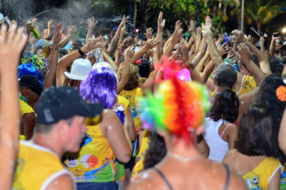 Carnaval Pé n'areia tem cinco dias de folia