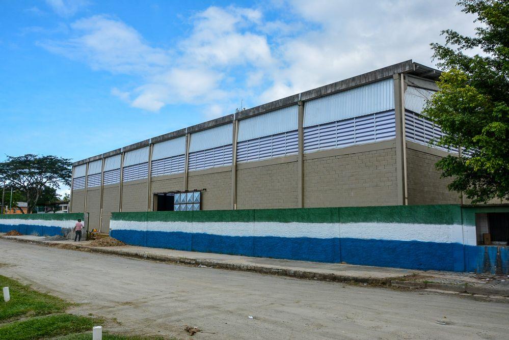 Quadra Poliesportiva da EM José de Oliveira será inaugurada no sábado (26)