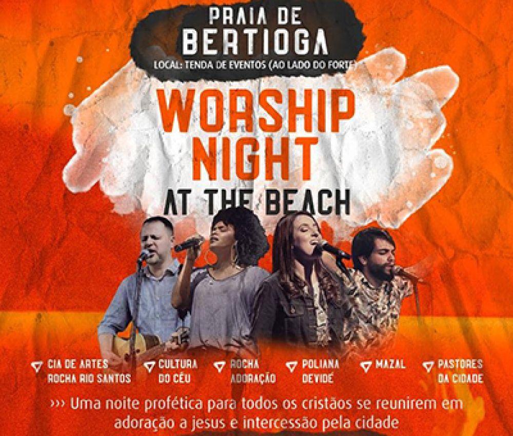 Bertioga reúne noite profética com muita música e artes.