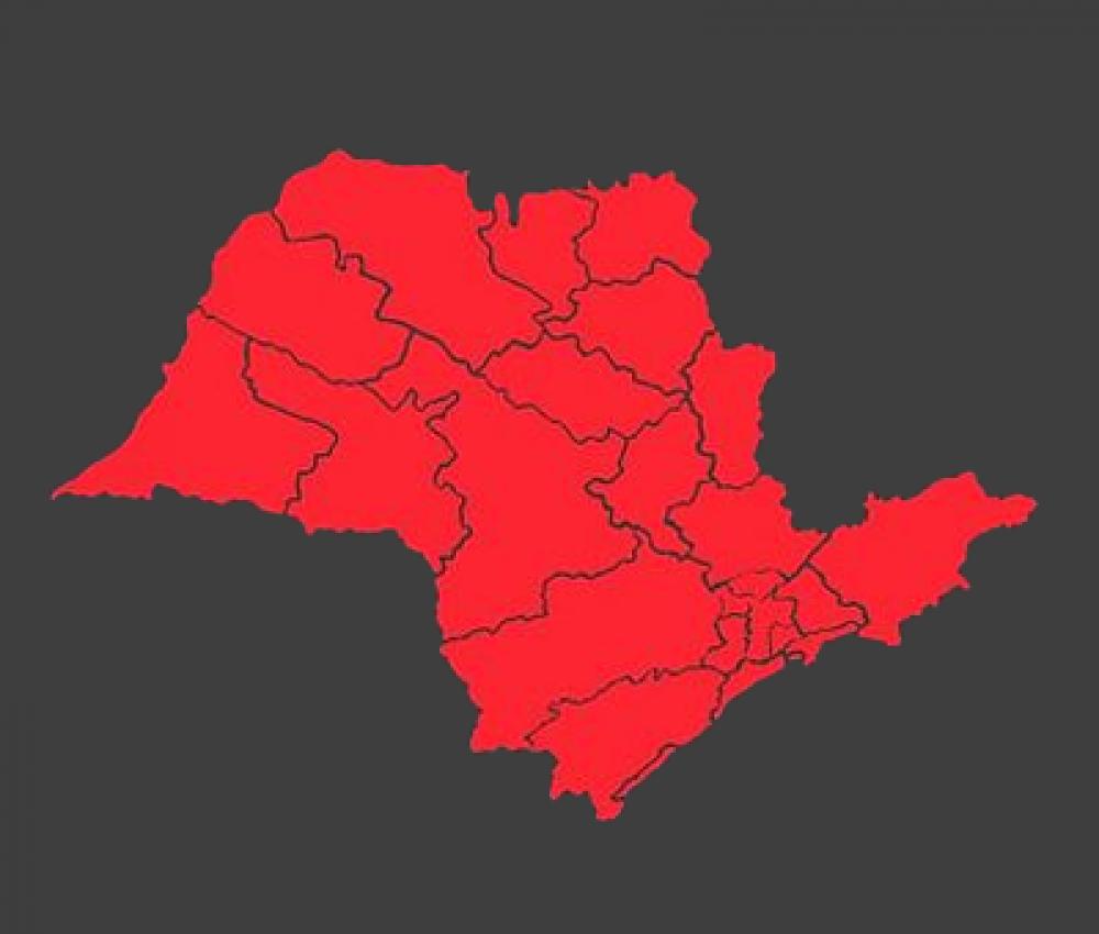 Governo de SP determina fase vermelha emergencial da quarentena