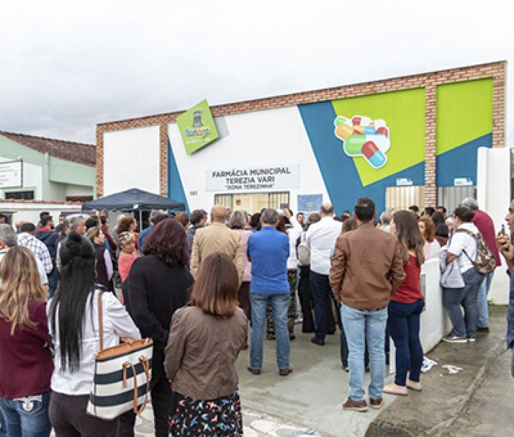 Bertioga conta com nova Farmácia Municipal
