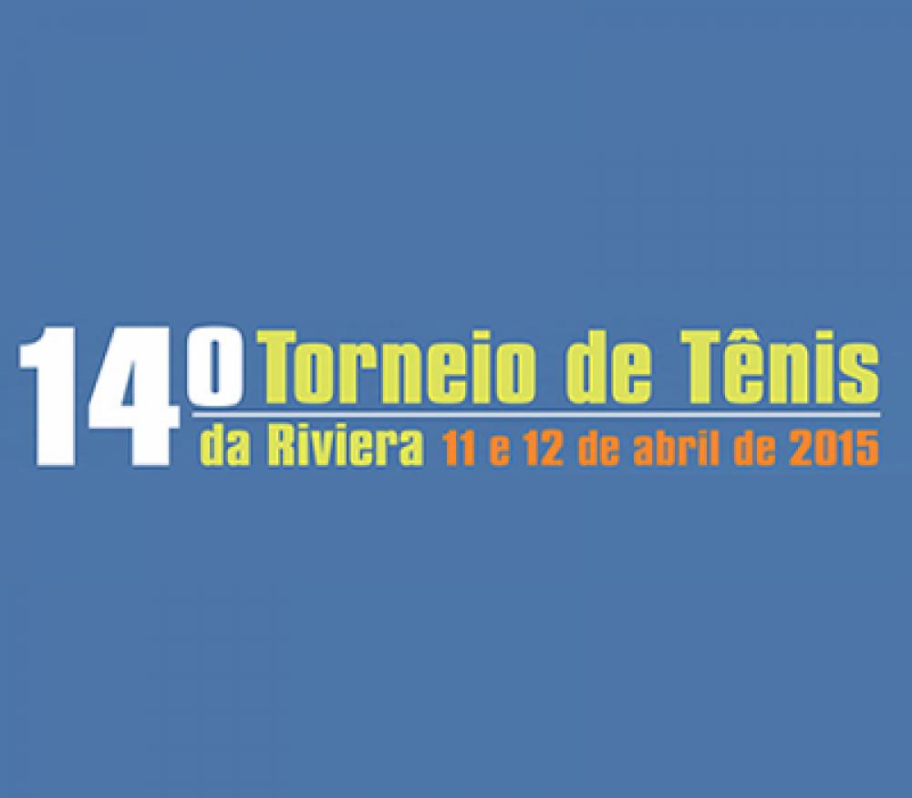 14º TORNEIO DE TÊNIS DA RIVIERA