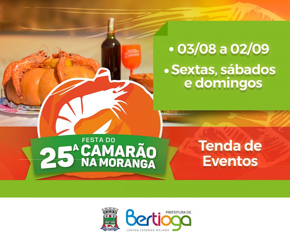 Festa do Camarão na Moranga começa na sexta (03)