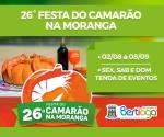 FESTA DO CAMARÃO NA MORANGA
