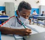 100% dos alunos retornam às escolas em Bertioga